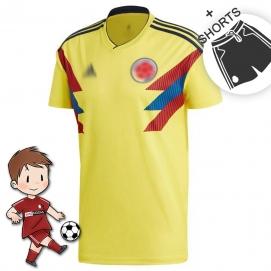 1ª Equipación AD Colombia Mundial Niños 2018