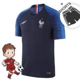 1ª Equipación NK Francia Mundial Niños 2018