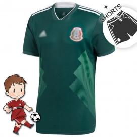 1ª Equipación AD Mexico Mundial Niños 2018