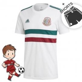 2ª Equipación AD Mexico Mundial Niños 2018