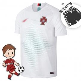 2ª Equipación NK Portugal Mundial Niños 2018