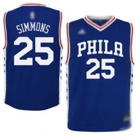 Camiseta Philadelphia 76ers Simmons 2ª Equipación