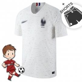 2ª Equipación NK Francia Mundial Niños 2018