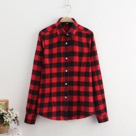 Camisa Cuadros - Rojo