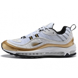 NK Air max 98 White and Gold