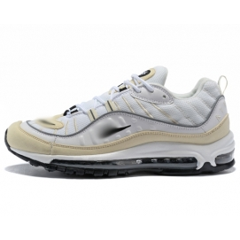 NK Air max 98 White and Beige