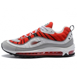 NK Air max 98 White, Red and Grey