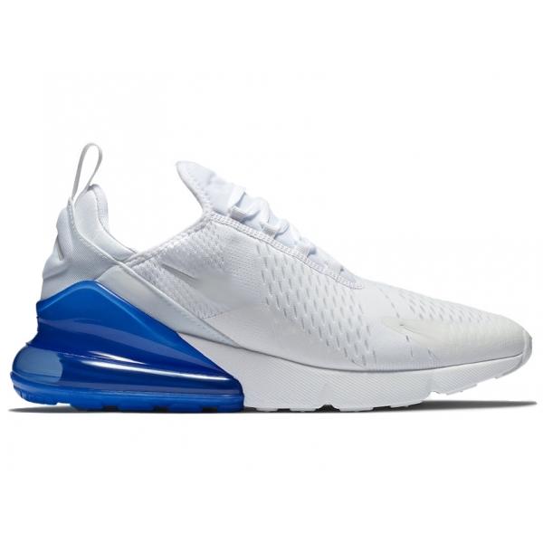 air max 270 blanco y azul