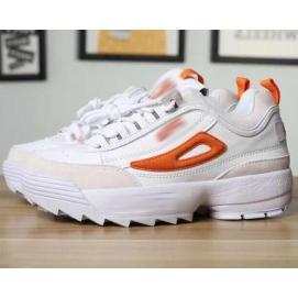 Zapatillas FLA Disruptor II Blanco y Naranja