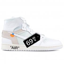 "Zapatillas NK Air Jordan 1 x Off White ""NRG"""