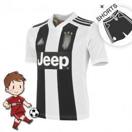 AD Juventus 1ª Equipación Niños 2018-2019