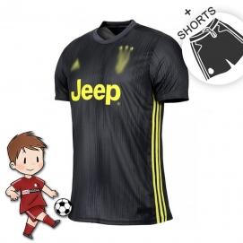 AD Juventus 2ª Equipación Niños 2018-2019