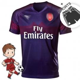 PMA Arsenal FC 2ª Equipación Niños 2018-2019