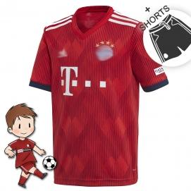 AD Bayern de Munich 1ª Equipación Niños 2018-2019