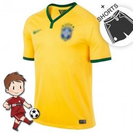 1ª Equipación NK Brasil Mundial Niños 2018