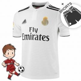 AD Real Madrid 1ª Equipación Niños 2018-2019