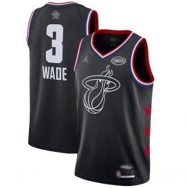 Camiseta NBA All-Star Conferencia Este 2019 Wade (Negro)
