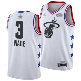 Camiseta NBA All-Star Conferencia Este 2019 Wade (Blanco)