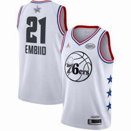 Camiseta NBA All-Star Conferencia Este 2019 Embiid (Blanco)
