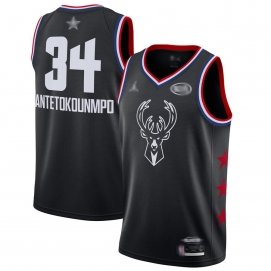 Camiseta NBA All-Star Conferencia Este 2019 Antetokounmpo (Negro)