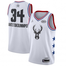 Camiseta NBA All-Star Conferencia Este 2019 Antetokounmpo (Blanco)