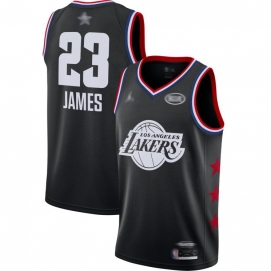 Camiseta NBA All-Star Conferencia Oeste 2019 James (Negro)
