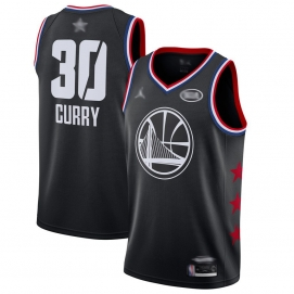 Camiseta NBA All-Star Conferencia Oeste 2019 Curry (Negro)