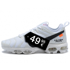 "Zapatillas NK Air max TN ""Off White"" Blanco"