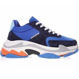 Zapatillas Blnciaga Triple S Azul