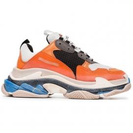 Zapatillas Blnciaga Triple S Naranja