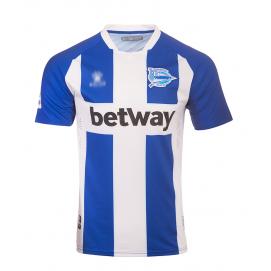Camiseta KLME Deportivo Alavés 1ª Equipación Hombre 2019-2020
