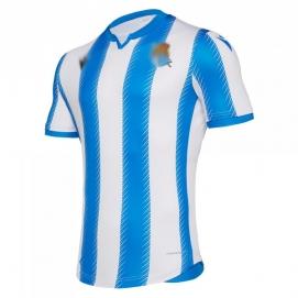 Camiseta Mcron Real Sociedad 1ª Equipación Hombre 2019-2020