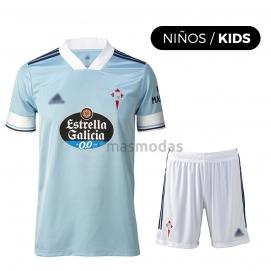 Camiseta AD Celta de Vigo 1ª Equipación  Niño 2020-2021