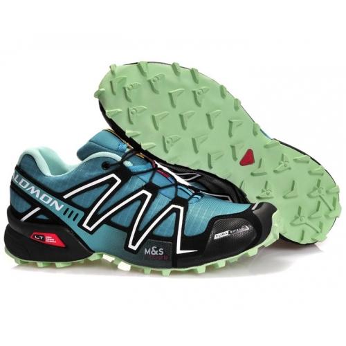 Zapatillas Salmon Speed Cross 3 Azul