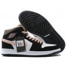 Zapatillas NK Air Jordan 1 Negra & Rosa