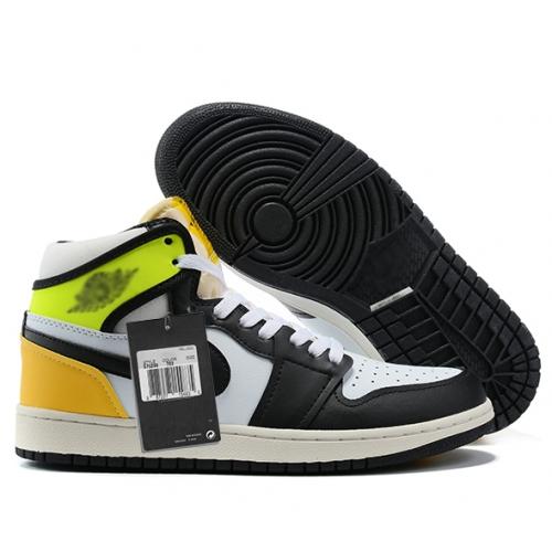Zapatillas NK Air Jordan 1 Amarillas