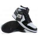 NK A. Jordan 1 Mid Black & White