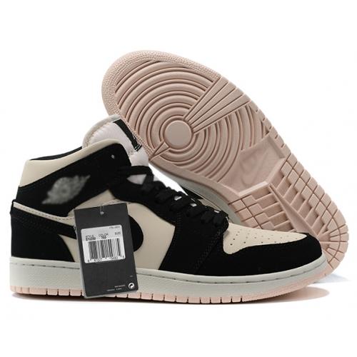 Zapatillas NK Air Jordan 1 Rosa & Negra