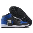 NK A. Jordan 1 Mid Black & Blue