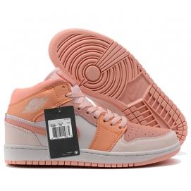 NK A. Jordan 1 Mid Pink & Orange