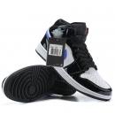 Zapatillas NK Air Jordan 1 Mid Negras Brillantes