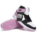 Zapatillas NK Air Jordan 1 Mid Rosas y Negras