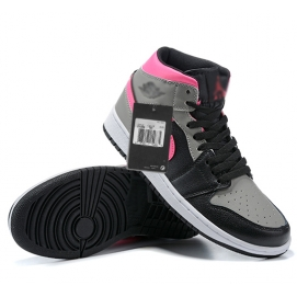 Zapatillas NK Air Jordan 1 Fucsia & Negras