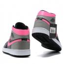 Zapatillas NK Air Jordan 1 Fucsia & Negras