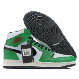 Zapatillas NK Air Jordan 1 Mid Verdes