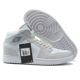 Zapatillas NK Air Jordan 1 Blanco Marfil