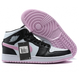 Zapatillas NK Air Jordan 1 Rosas & Negras