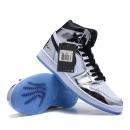Zapatillas NK Air Jordan 1 Plata Espaciales