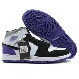NK A. Jordan 1 Mid Purple