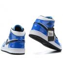 Zapatillas NK Air Jordan 1Celeste Brillante